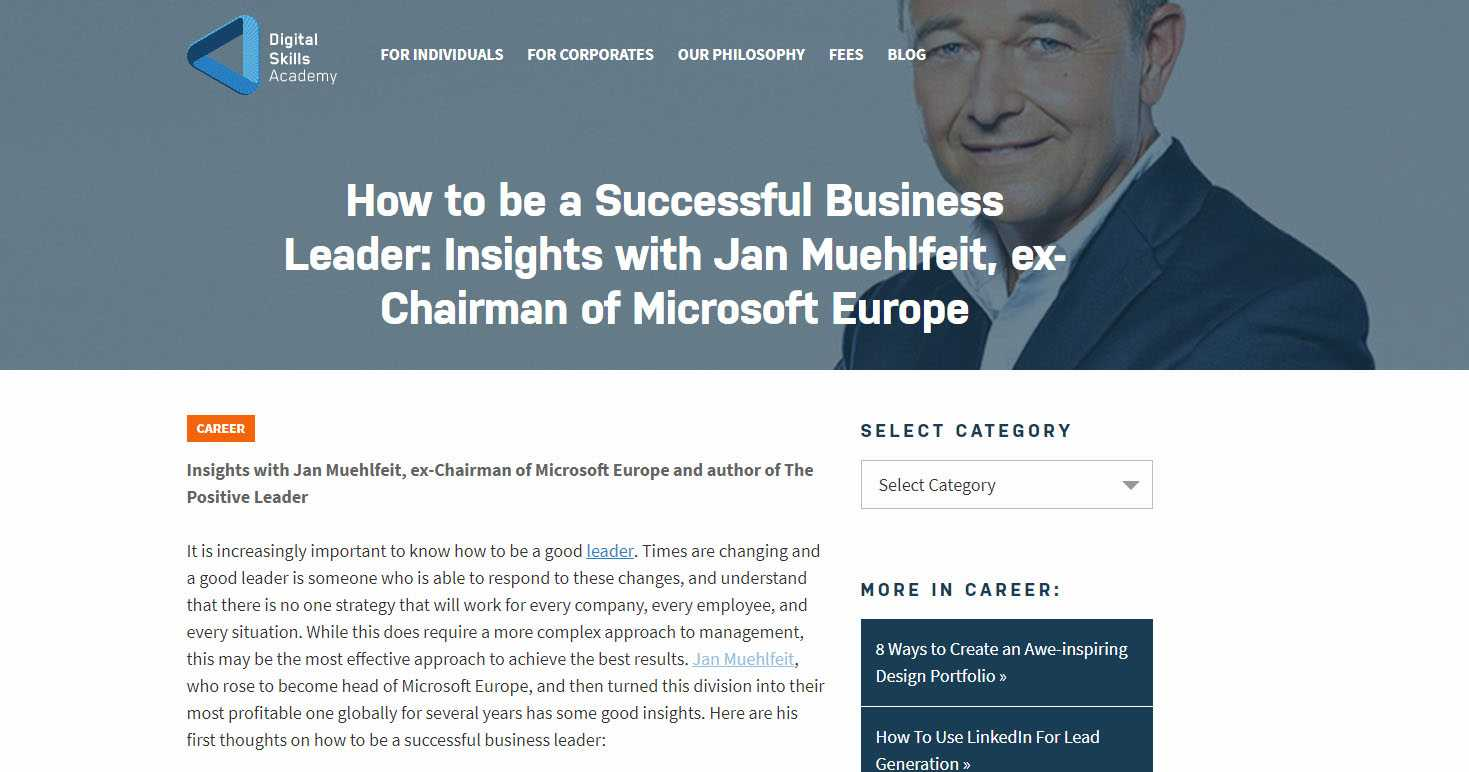 How to be a Successful Business Leader: Insights with Jan Muehlfeit, ex-Chairman of Microsoft Europe